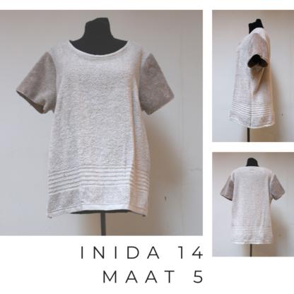 Durabele t-shirt uit INDIA uit badstof.