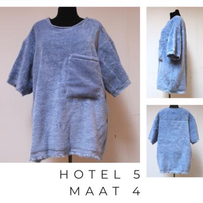 HOTEL t-shirt uit badstof circulair vervaardigd
