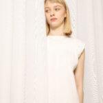 Duurzaam wit kleedje papa herwerkt uit hemden