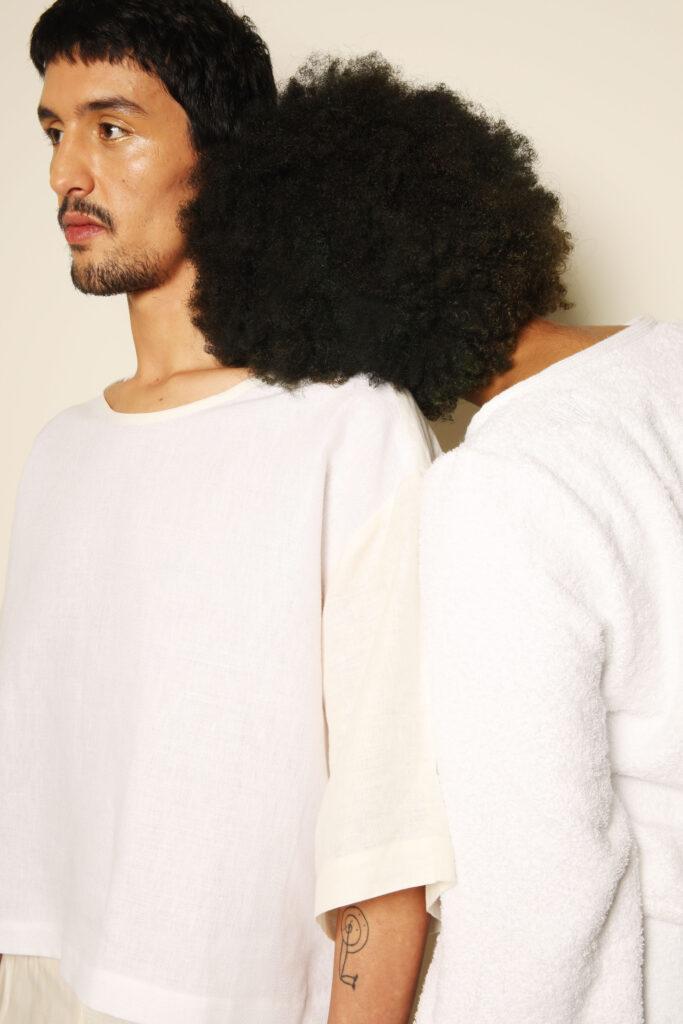 wit linnen sierra koppel