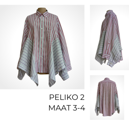 Duurzame cape gemaakt uit hemden