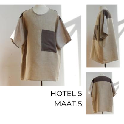 HOTEL top uit linnnen circulair gemaakt