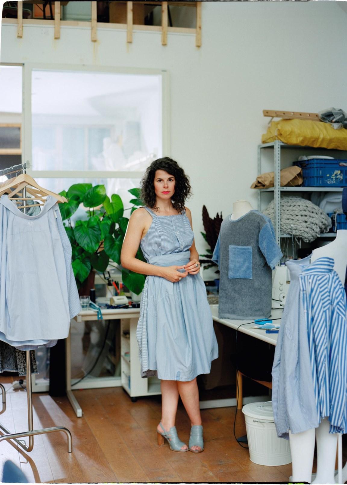 de standaard pers kleedje atelier
