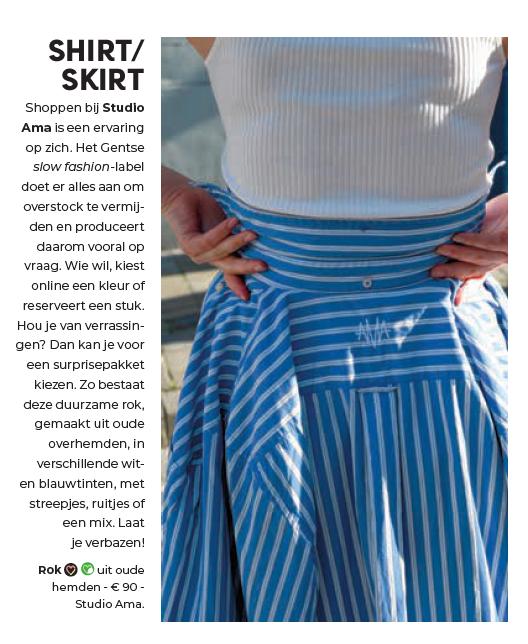 Flair Oscar rok hemden slow fashion