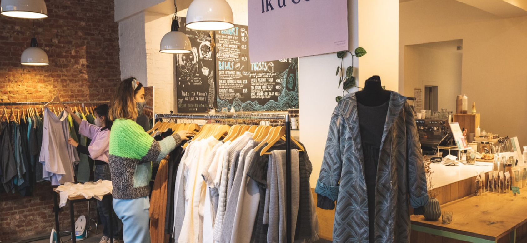 Gent ondernemer pop-up duurzame kledij