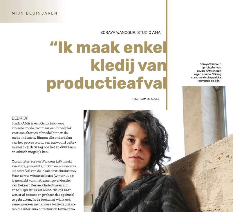 artikel over Soraya Wancour van Studio Ama in Voka